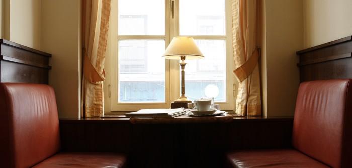 Rückzugsorte zur Buchlektüre: das Kaffeehaus